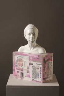 A Day in the Life of ....Sophie, by Billie Bond, POrtrait Sculpture