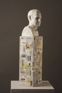 A Day in the Life of........Mike, portrait sculpture by Billie Bond